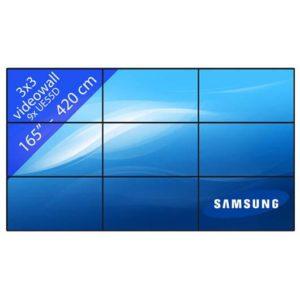 Samsung-55-videowall-3x3