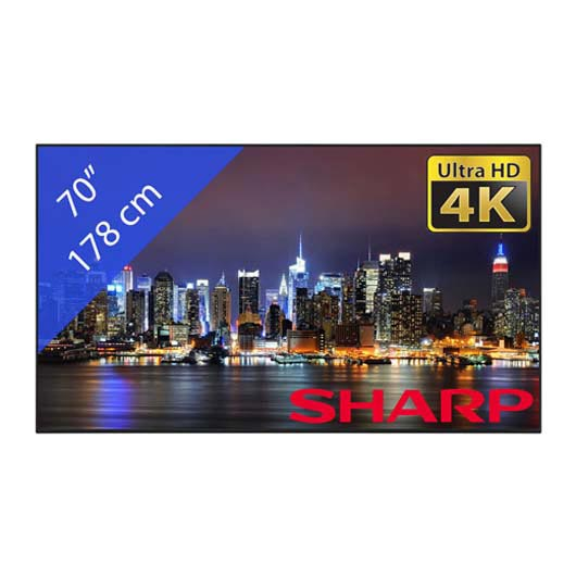 Sharp Beeldsherm PNH701 Ultra HD 4K
